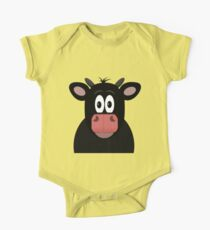 Mrs Cow One Piece - Short Sleeve