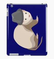 NDVH Ferret Wearing a Trilby iPad Case/Skin