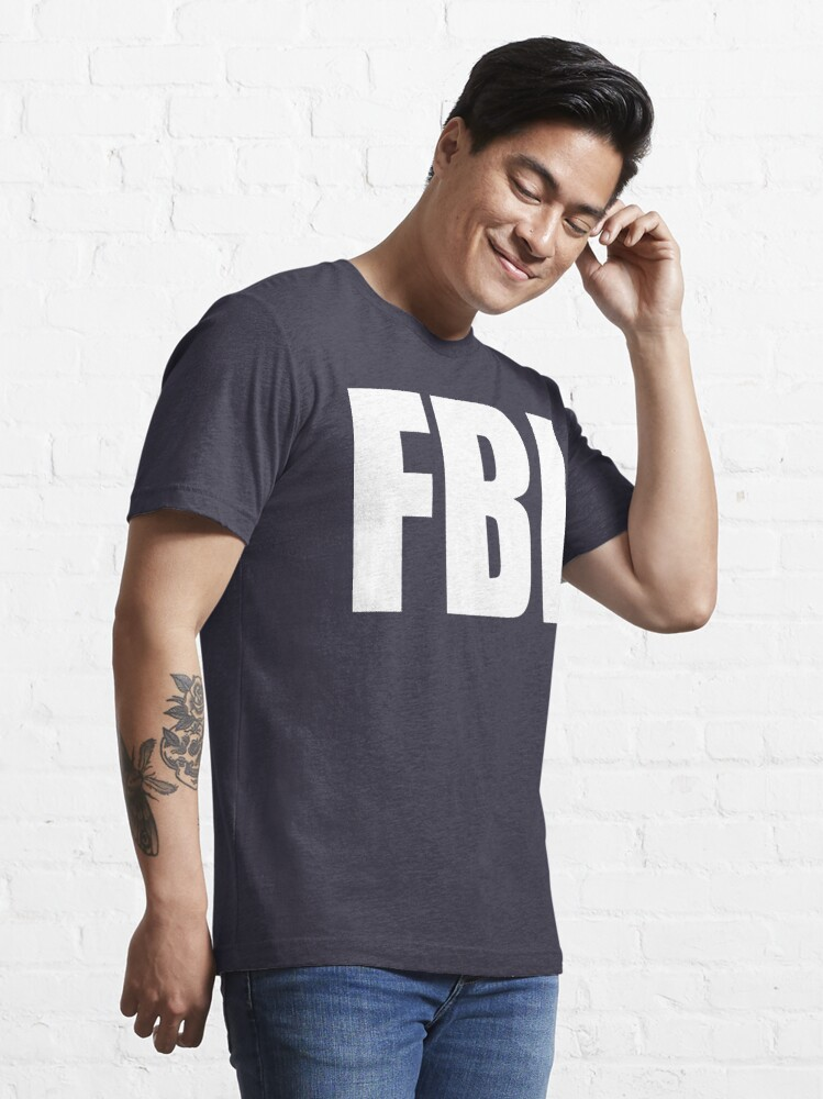 Alternate view of NDVH FBI Essential T-Shirt