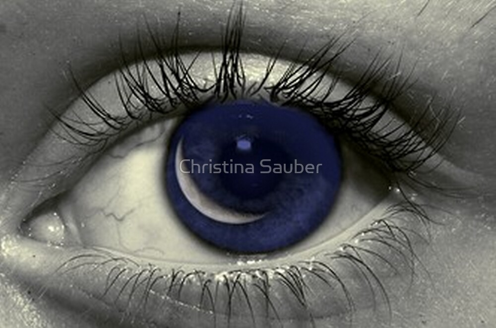 Moon In Her Eye by Christina Sauber