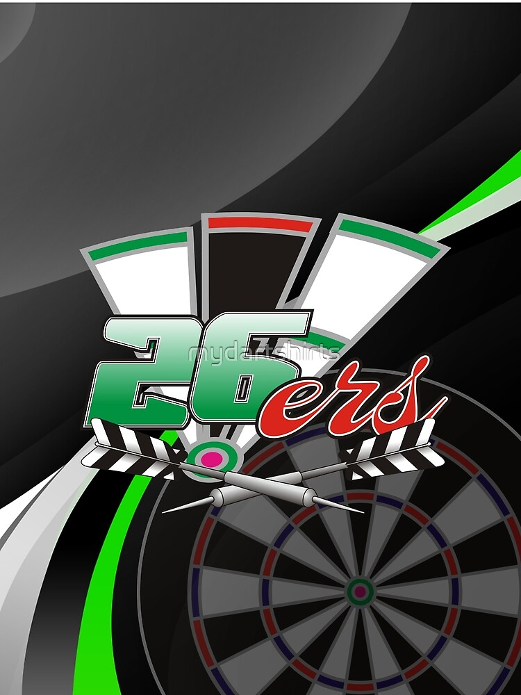 26ers Darts Team by mydartshirts
