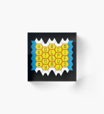 NDVH Blockbusters Acrylic Block