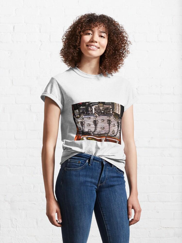 Alternate view of Offy Flathead Fins Classic T-Shirt