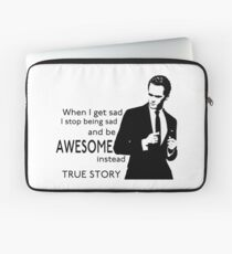 himym Barney Stinson Suit Up Awesome Laptop Sleeve