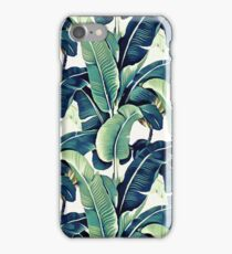 Banana Leaves iPhone Case/Skin