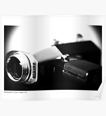 Vintage Video Camera Poster