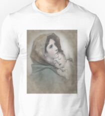 The Madonna, Nativity mother and child. Unisex T-Shirt