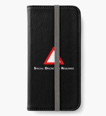 NDVH Channel 4 Red Triangle iPhone Wallet/Case/Skin