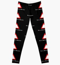 NDVH Channel 4 Red Triangle Leggings