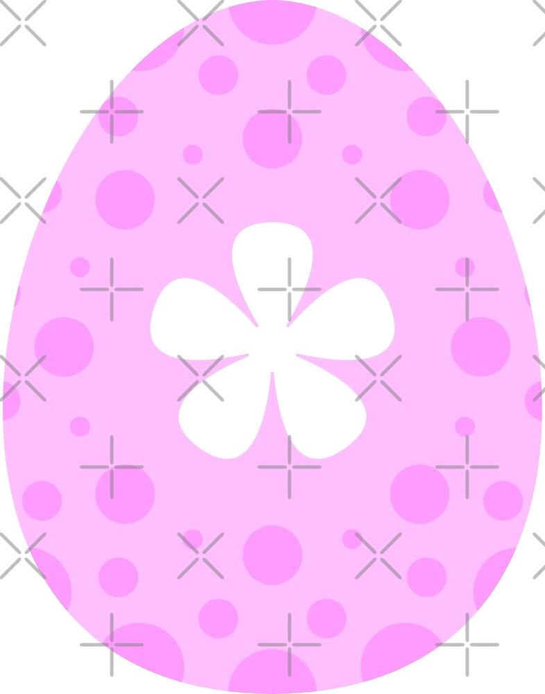 Purple Flower Egg by Zap-Works