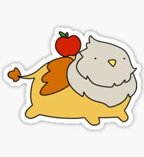 Apple Griffin Sticker