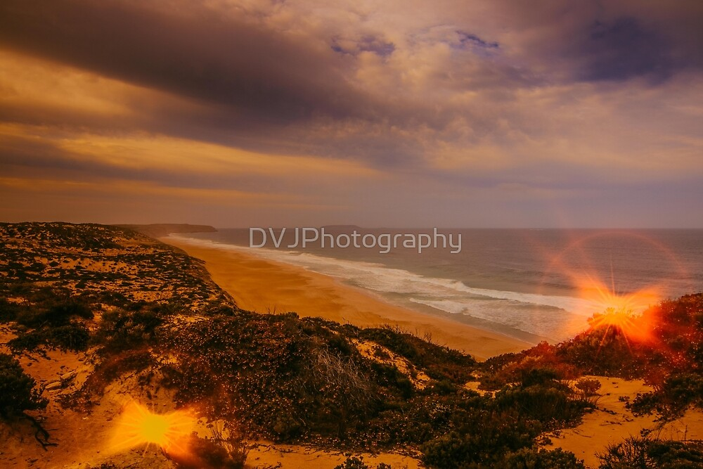Beach Glow by DVJPhotography