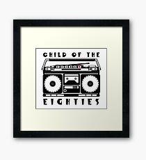Eighties Music Framed Print