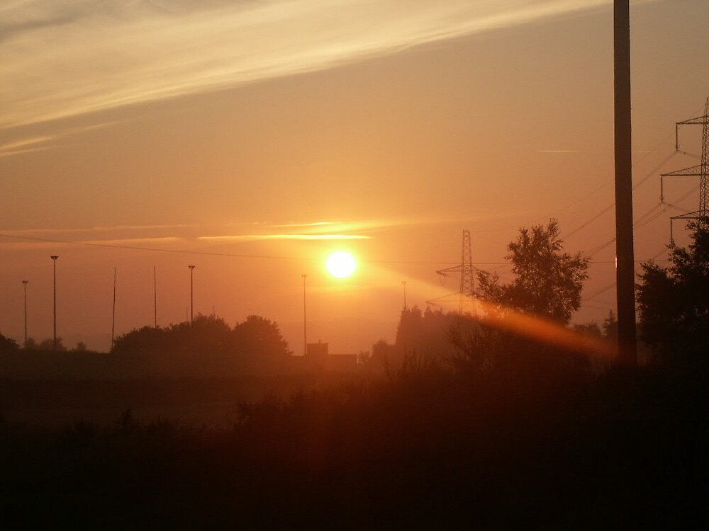 sunrise by wysutty