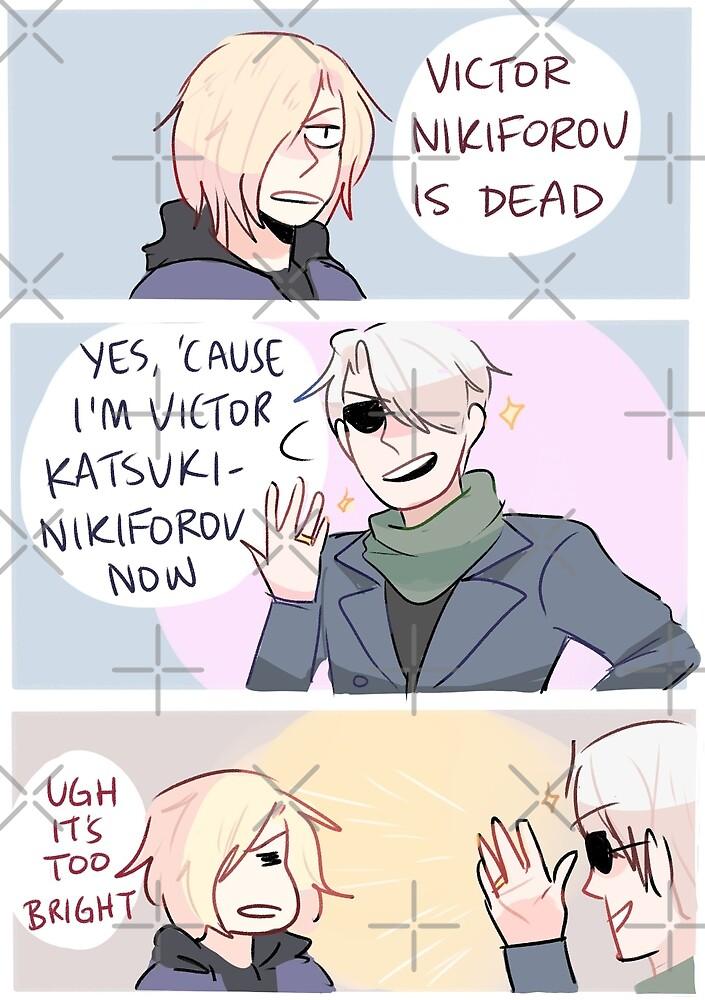 YOI: IT'S VICTOR KATSUKI-NIKIFOROV NOW by randomsplashes