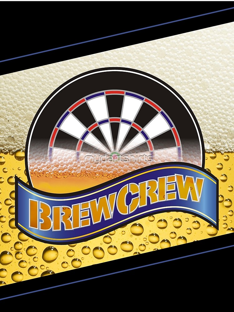 Brew Crew Darts Team by mydartshirts