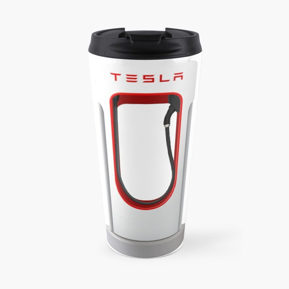 Tesla Supercharger Station Travel Mug