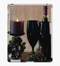 Wine For Two by Candlelight iPad Case/Skin