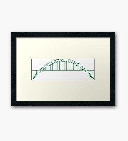 NDVH Tyne Bridge Framed Print