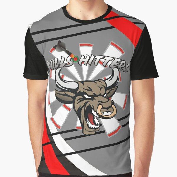 Bull Hitters Darts Team Graphic T-Shirt