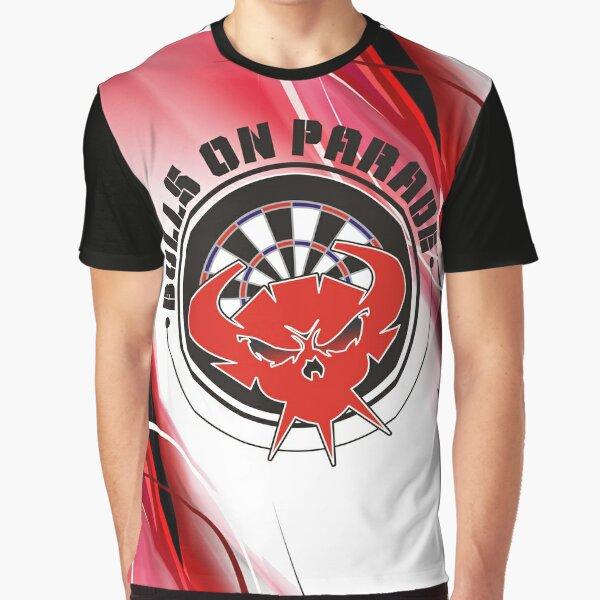 Bulls On Parade Darts Team Graphic T-Shirt