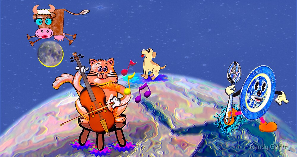 """""""The Cat And The Fiddle"""" by Randy Gentry"""