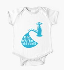 Water Conservation One Piece - Short Sleeve