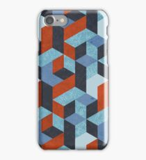 Funky Geometric Texured iPhone Case/Skin