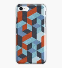 Funky Geometric Texured iPhone Case/Skin