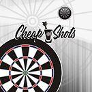 Cheap Shots Darts Team by mydartshirts
