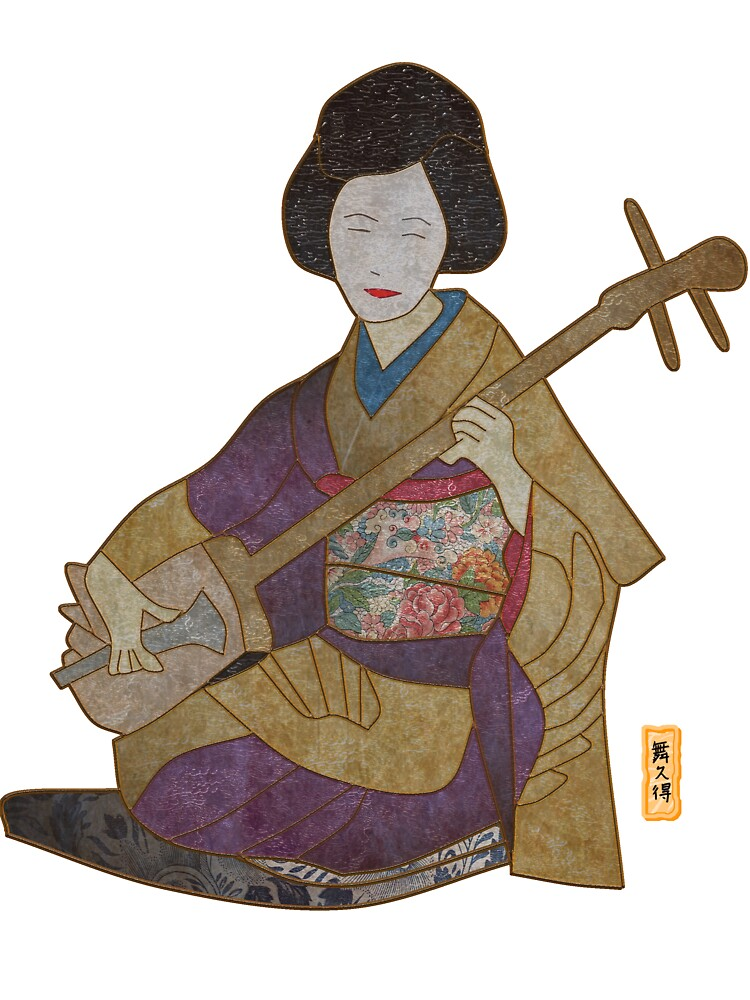 Geisha Singing by Mike Connor