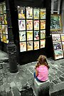 Art shines in the eyes of Children by Andrew Wilson