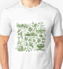 "Zelda ""Hero of Time"" Toile - Kokiri's Emerald T-Shirt"