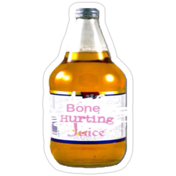 """Bone Hurting Juice Funny Meme Tee Shirt"" Stickers by ..."