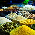 Spices in the markets by Nicole Goggins