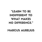 MARCUS AURELIUS  Stoic Philosophy Quote  by IdeasForArtists