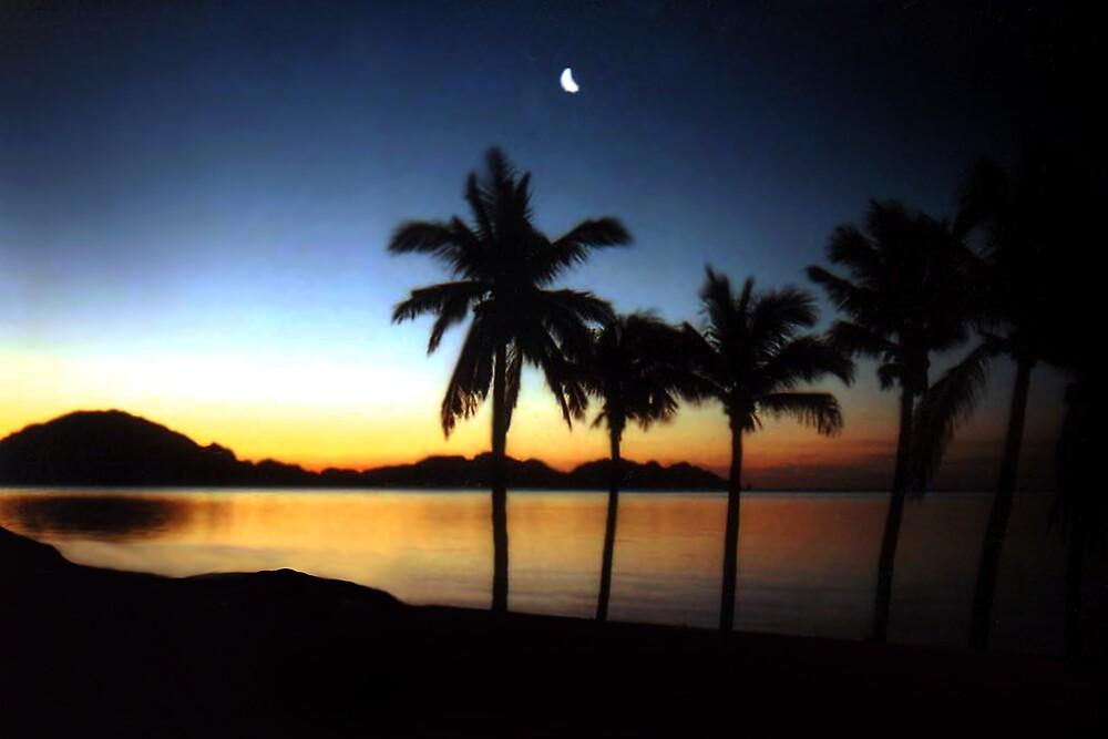 San Carlos Sunset by Ken  Aitchison