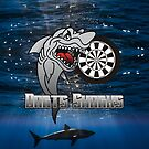 Darts Sharks Darts Team by mydartshirts
