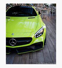 Lime Green German Beast Photographic Print
