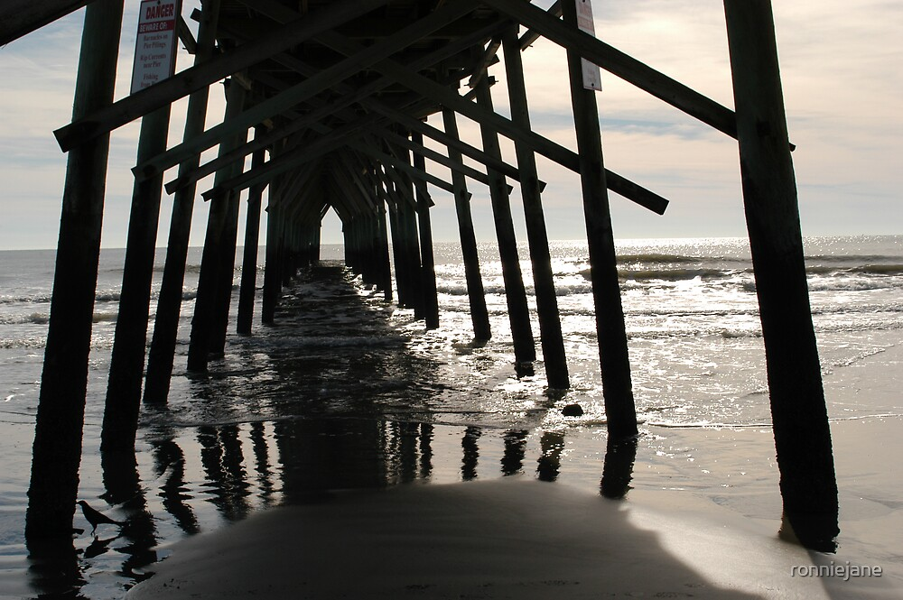 Under the boardwalk by ronniejane