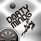 Darty Minds Darts Team by mydartshirts