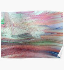 Lyrical Abstract Poster
