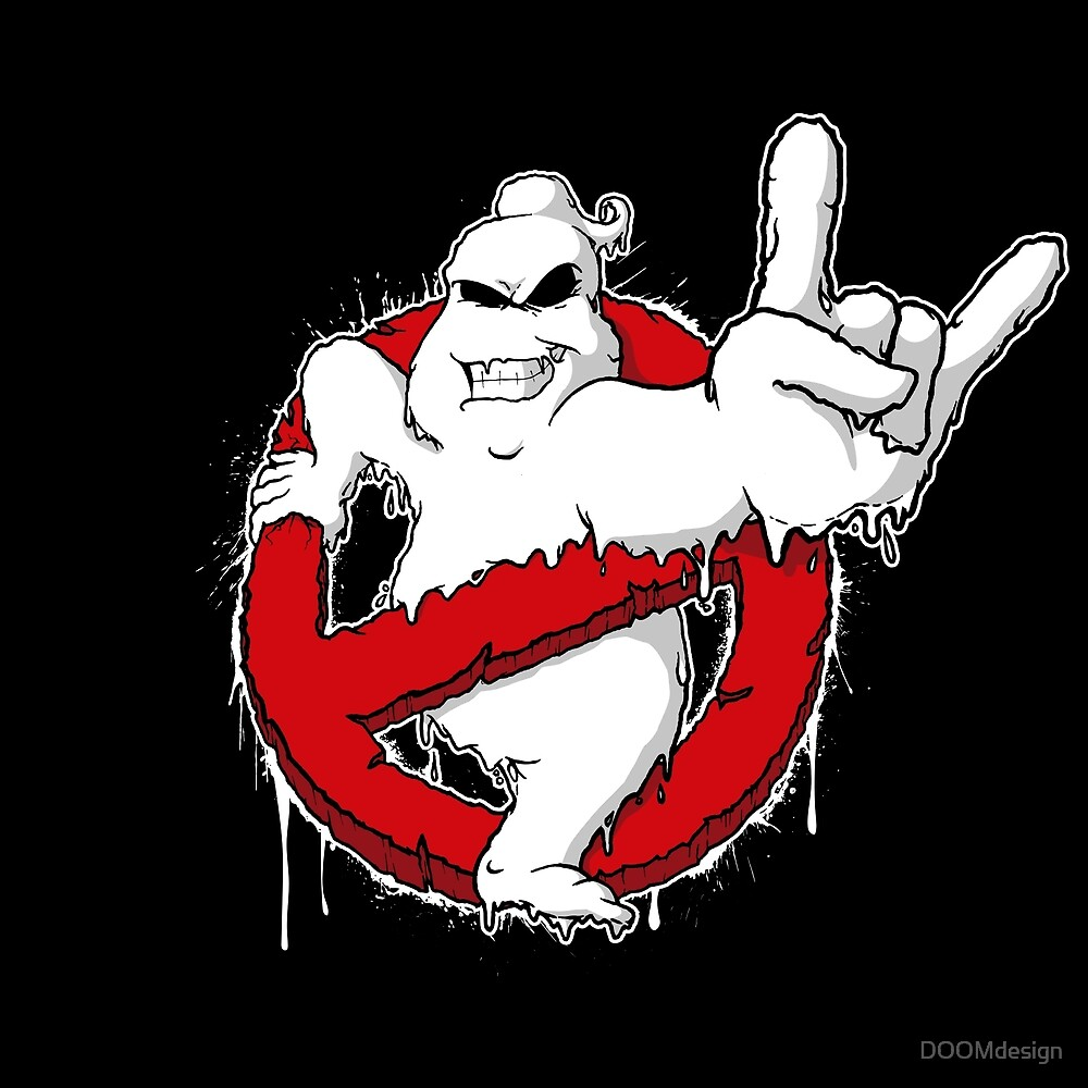 Ghostbusters - Horns Up! von DOOMdesign