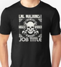 Miracle worker  job title Unisex T-Shirt