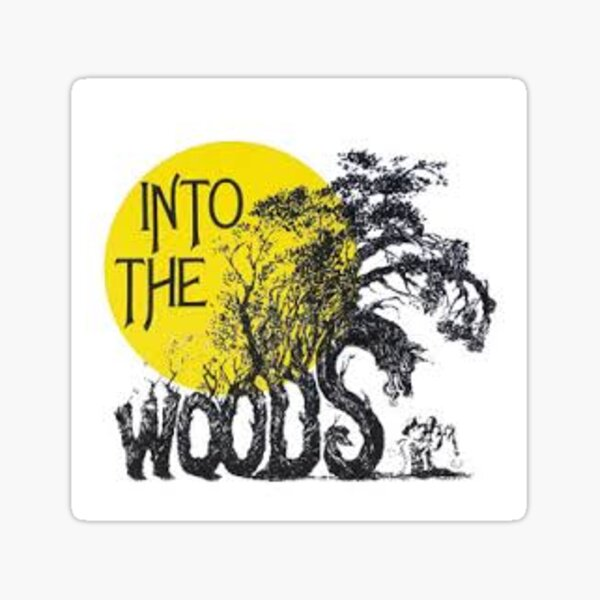 Into the Woods Sticker