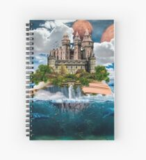 Book Castle Spiral Notebook