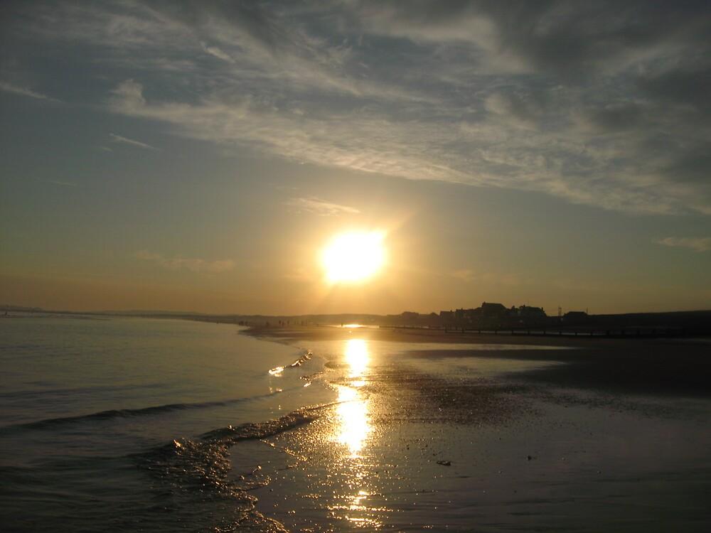 Evening Sunset by Deirdre Banda
