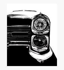 1966 Cadillac Headlight Photographic Print