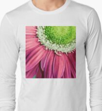 Pink Flower Petals T-Shirt