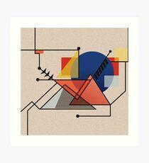 Midcentury Modern Abstraction Art Print